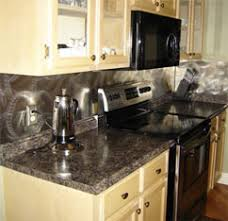 Random Swirl Pattern Stainless Steel Sheets From QuickShipMetalscom - Cutting stainless steel backsplash