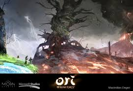 the gorgeous art behind hit xbox one game ori and the blind forest
