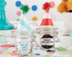 favor jars party time glass favor jars set of 12