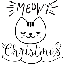 meowy christmas meowy christmas design only mae co
