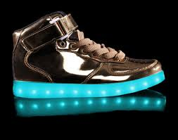 light up shoes charger kids light up shoes gold high top with usb charger cheap sale