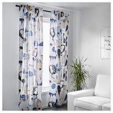 silverbuske curtains 1 pair ikea