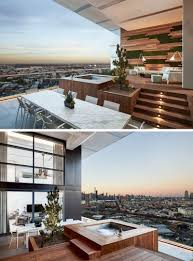 Open Balcony Design This Balcony With Views Of Brooklyn Was Designed For Outdoor