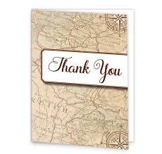 around the world wedding thank you cards loving invitations