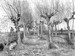 vincent van gogh u2013 tree drawings drawing academy drawing academy
