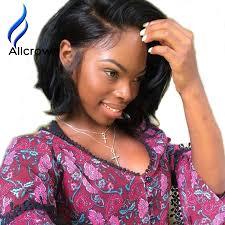 bobcut full lace human hair wigs for black women brazilian virgin