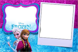 frozen in blue and purple free printable invitations is it for