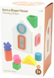 amazon com kid o shape sorting house classic sorter toys u0026 games
