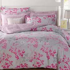 Light Comforters Clearance Light Grey And Pink Pattern Cotton Comforter Sets Queen