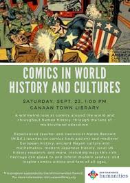 humanities to go program comics in world history and cultures