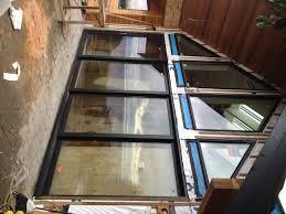 glass door broken how to replace broken window glass in aluminum frame southern