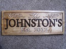 wedding gift name sign personalized wedding gift christmas present family name sign