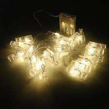 Apple String Lights by Miniature Creative Clip Led String Lights U2013 Warm White Or Multi