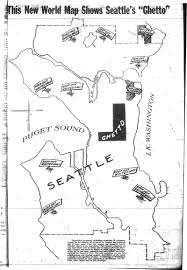 Map Of Seattle Neighborhoods by Racial Restrictive Covenants