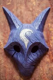 wolf mask inspired kindred and wolf mask league of legends lol