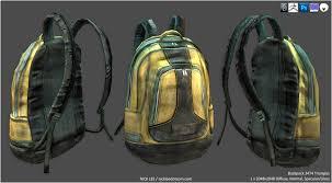 artstation prop backpack nick lee