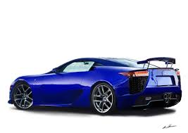 lexus lfa years illustration of a lexus lfa done by me in about 25 hours the