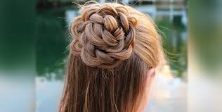 flower hair bun how to make the flower bun ary zauq official recipes dramas