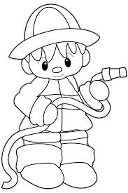 coloring pages fireman coloring sheets firefighter coloring