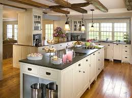 interior awesome french country kitchen decor ideas with brown