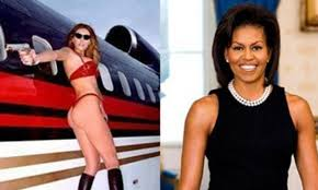 Wet Panties Meme - photo of melania trump in a thong and bra runs next to michelle
