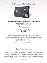 amex amazon offer black friday 2017 earn 20k hilton honors referral for 100k amex hilton surpass