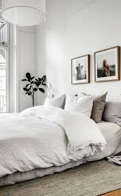 Modern Simple Bedroom Bedroom Cozy Scandinavian Bed Vintage Danish Modern Furniture