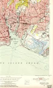 Maps Of New England by Bridgeport Ct Quadrangle