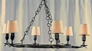 large round outdoor wrought iron chandelier with lamp holder and