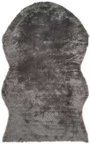 Safavieh Faux Sheepskin Rug Rug Fss115d Faux Sheep Skin Area Rugs By Safavieh