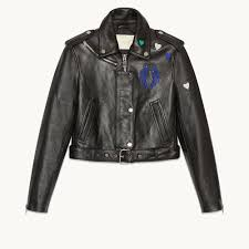 Cowhide Leather Vest Bicoeur Cropped Cowhide Leather Jacket Coats U0026 Jackets Maje Com