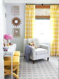 Curtains For Yellow Living Room Decor Terrific Yellow Curtains Living Room Decorating With Yellow Walls