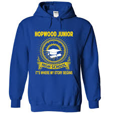 hopwood junior high it u0027s where my story begins t shirts