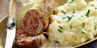 cuisiner des andouillettes andouillettes aux pommes de terre facile recette sur cuisine