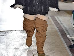 why are ugg boots considered thigh high ugg boots debut at s fashion week
