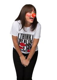 red nose funny faces mirror online