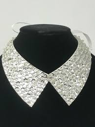 collar necklace images Silver collar necklace jpg