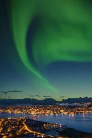 scandinavian cruise northern lights the northern lights aurora borealis in arctic norway fjord