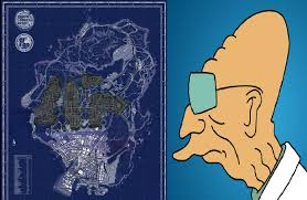 Gta 5 Map I Thought The Gta V Map Looked Familiar Imgur