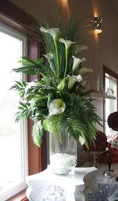 Tall Metal Vases For Wedding Centerpieces by Cylinder Vase Arrangements Flower Arrangement In Tall Floor Vase