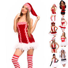 miss santa claus costume hen night xmas party fancy dress