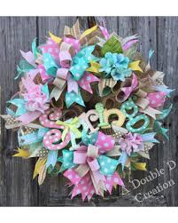 springtime wreaths deals on spring wreath deco mesh wreath spring decor mothers