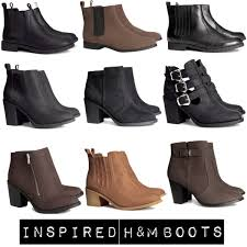 womens boots h m inspired h m boots polyvore