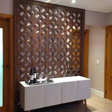 painel vazado divisoria entre sala e lavabo projeto by camila