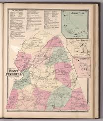 East New York Map by Town Of East Fishkill Insets Johnsville East Fishkill