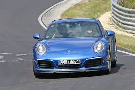 porsche car 2016 facelifted 2016 porsche 911 revealed the 991 2 spotted without