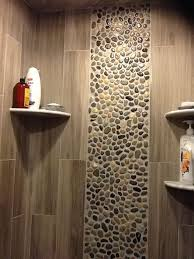 glazed bali ocean pebble tile pebble tile shower pebble tiles
