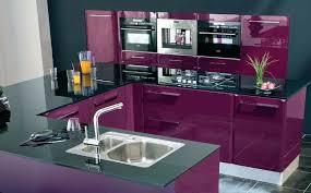 cuisine mur aubergine cuisine aubergine et grise p44 45 safari ambiance choosewell co