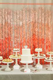 fifty shades of orange wedding inspiration orange weddings