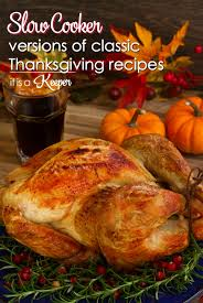 cooker versions of classic thanksgiving recipes